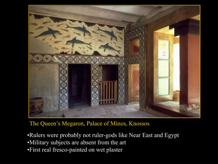 The Queen's Megaron, Palace of Minos, Knossos