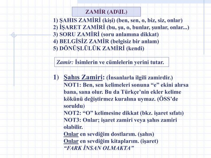 ZAMİR (AD\IL)
