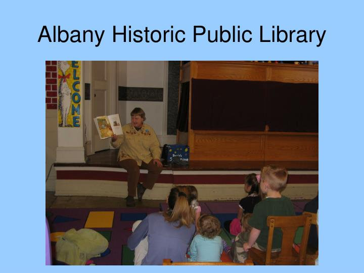 Albany Historic Public Library