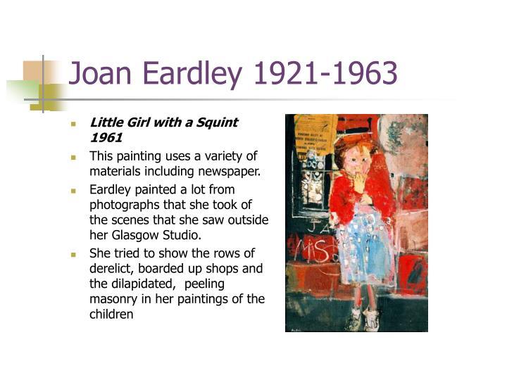 Joan Eardley 1921-1963