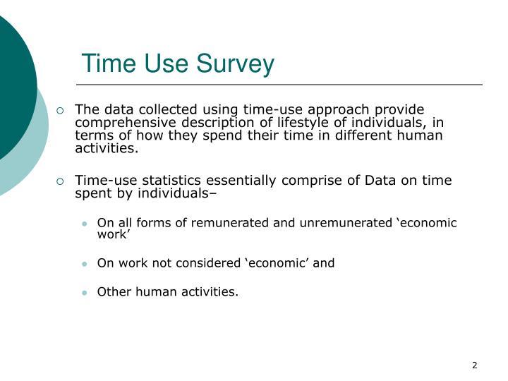 Time Use Survey