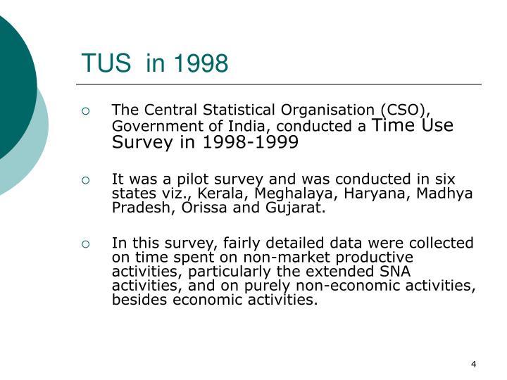 TUS  in 1998