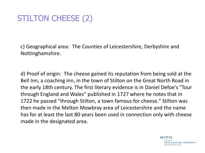 STILTON CHEESE (2)