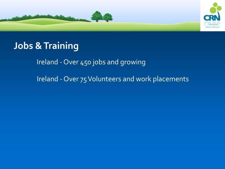 Jobs & Training