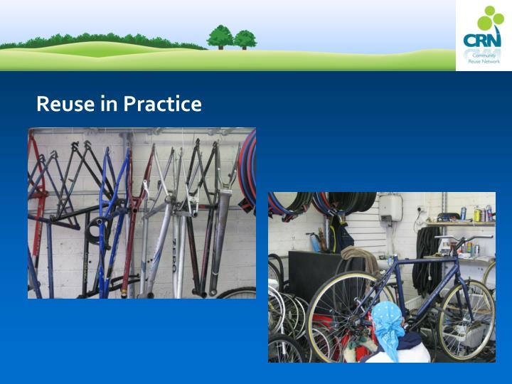 Reuse in Practice