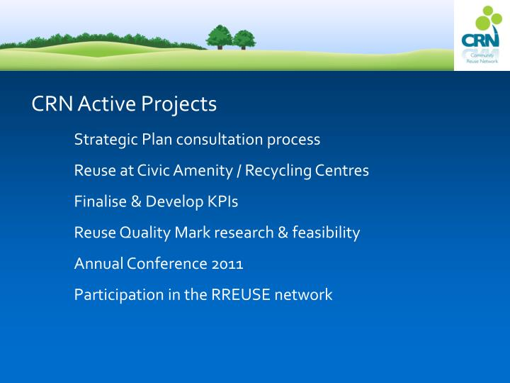 CRN Active Projects