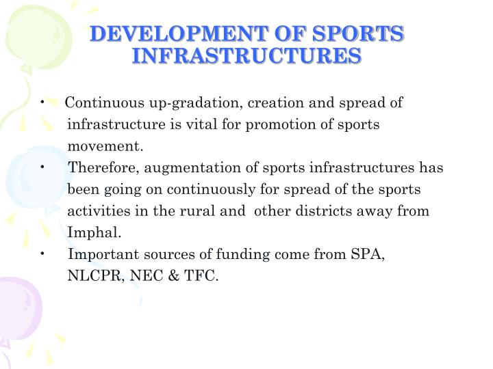 DEVELOPMENT OF SPORTS