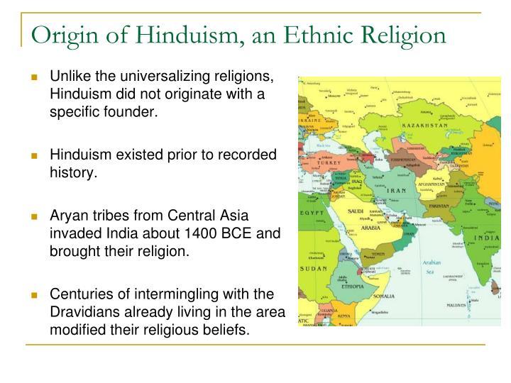 Hinduism origins