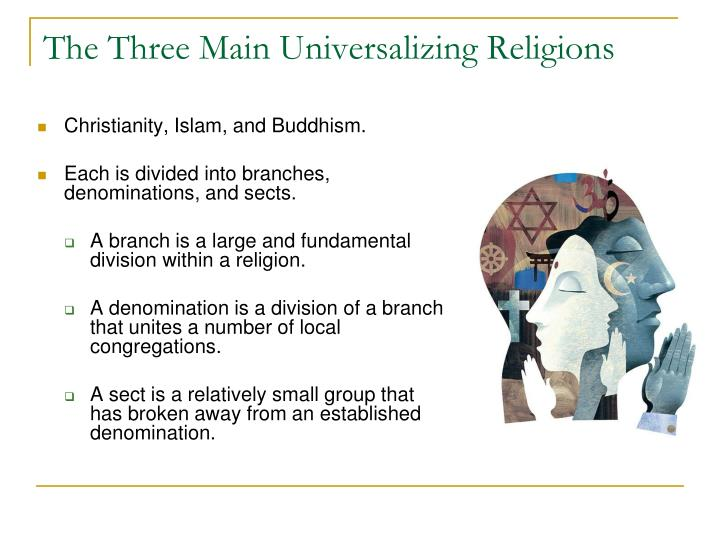 universalizing religions Geography of religion cultural geography cj cox instructor.