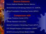 source datasets