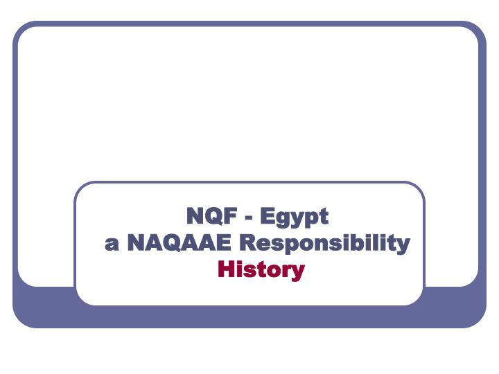 NQF - Egypt