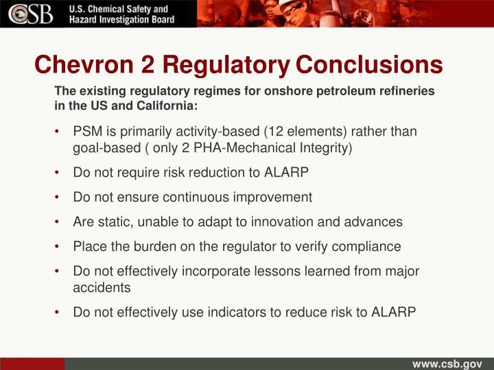 Chevron 2 Regulatory