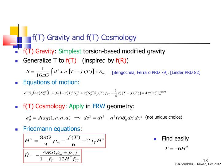 f(T) Gravity and f(T) Cosmology