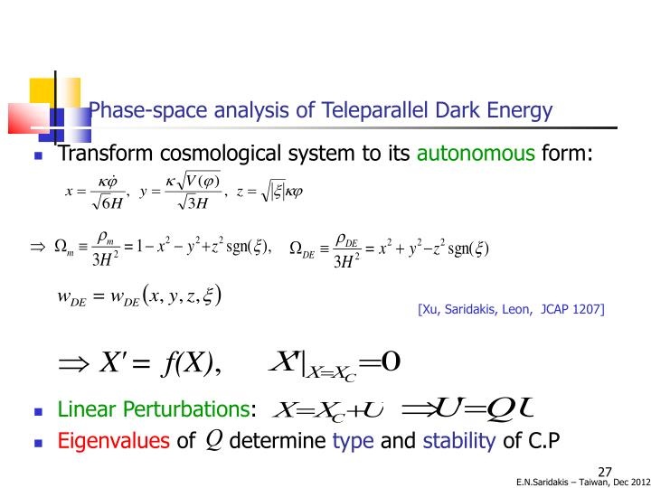 Phase-space analysis of Teleparallel Dark Energy