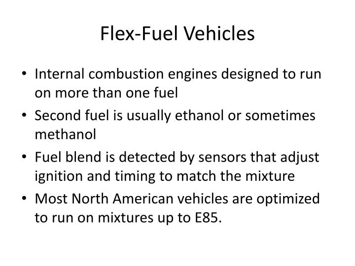 Flex-Fuel Vehicles