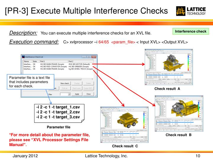 [PR-3] Execute Multiple Interference Checks