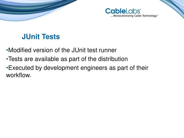 JUnit Tests