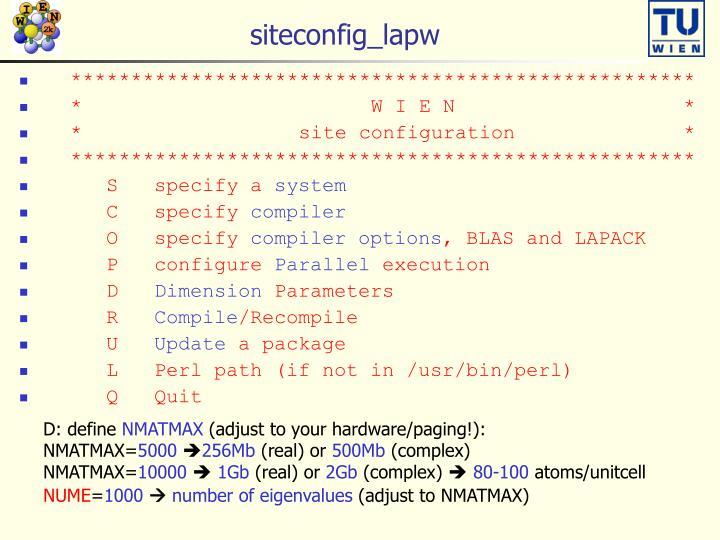siteconfig_lapw