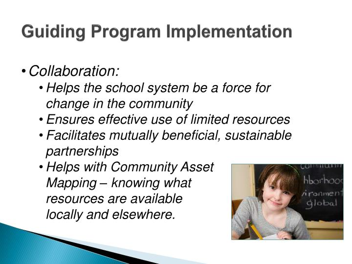 Guiding Program Implementation