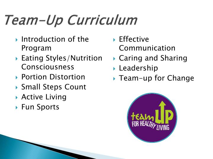 Team-Up Curriculum