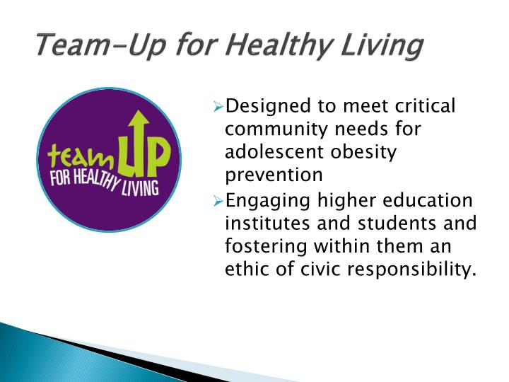 Team-Up for Healthy Living