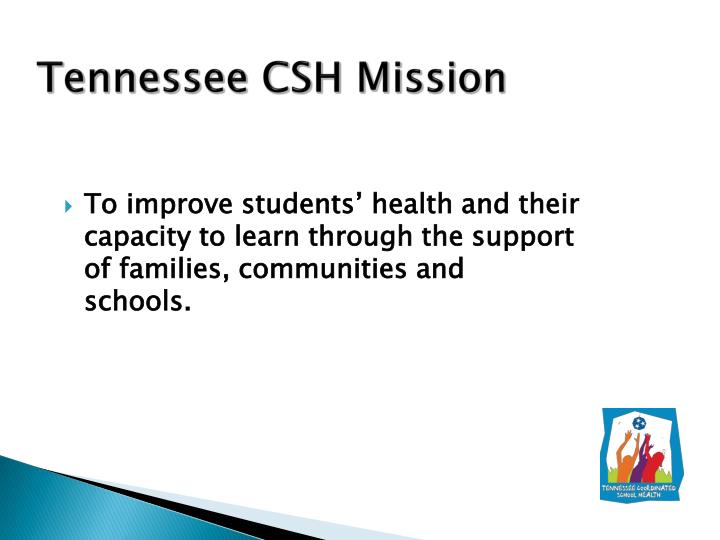 Tennessee CSH Mission