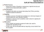 agenda item 8 sjr 297 recommendations