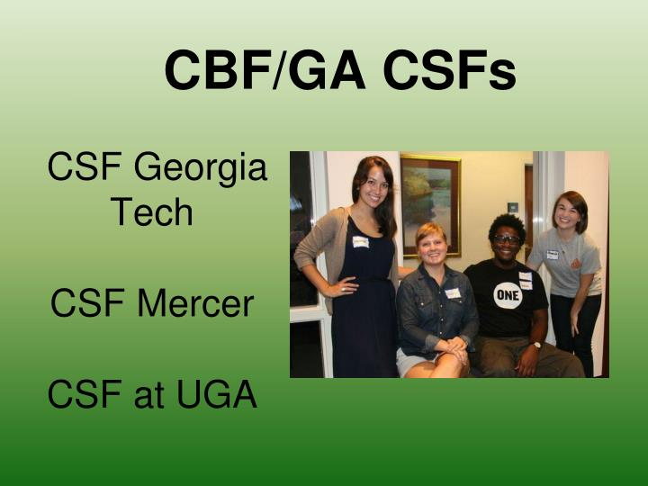 CSF Georgia Tech