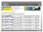 student view at north orange5