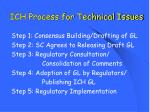 ich process for technical issues