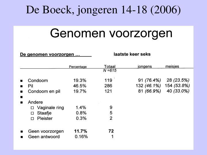 De Boeck, jongeren 14-18 (2006)