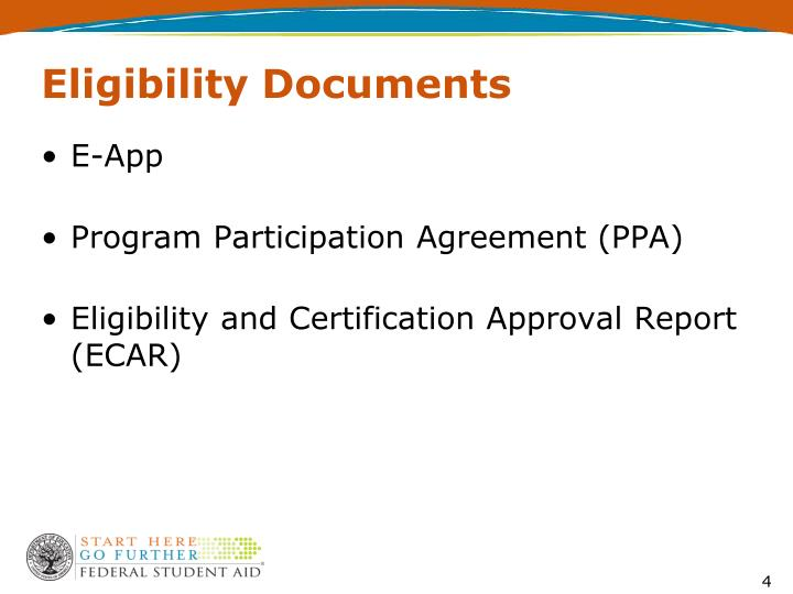 Eligibility Documents