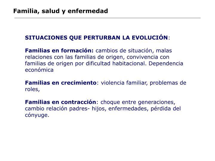 Familia, salud y enfermedad