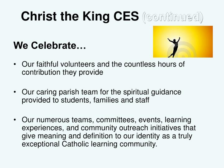 Christ the King CES