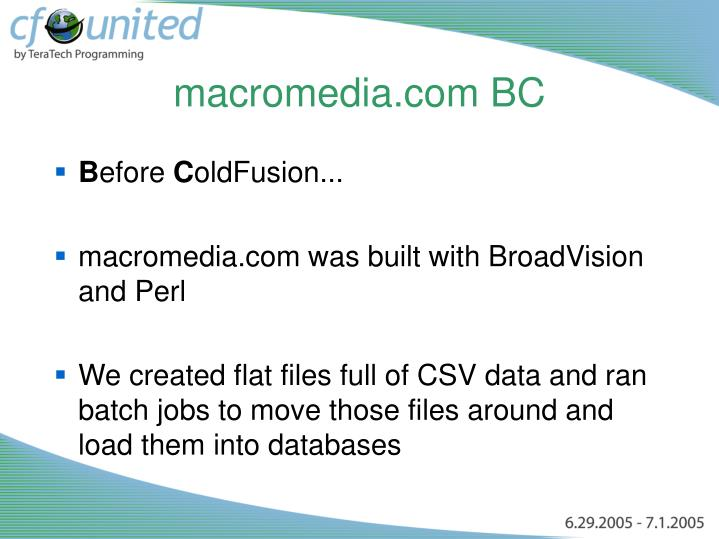 macromedia.com BC