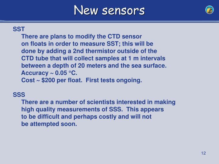 New sensors