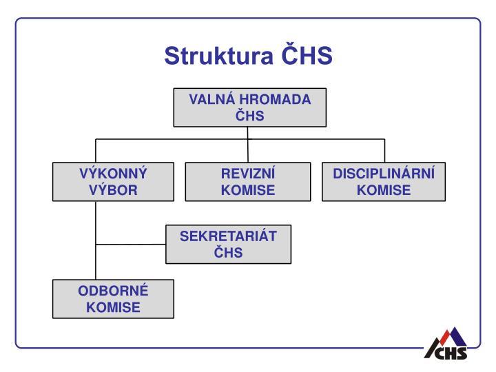 Struktura ČHS