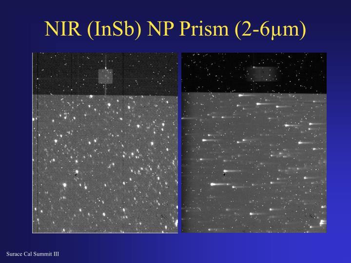 NIR (InSb) NP Prism (2-6µm)