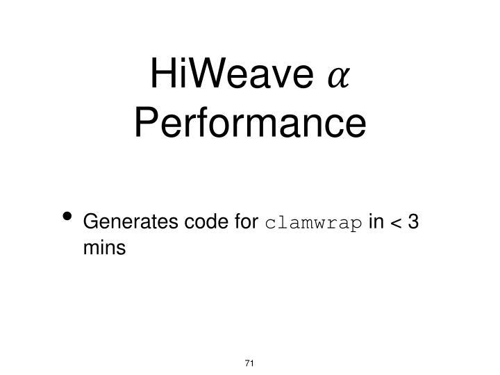 HiWeave