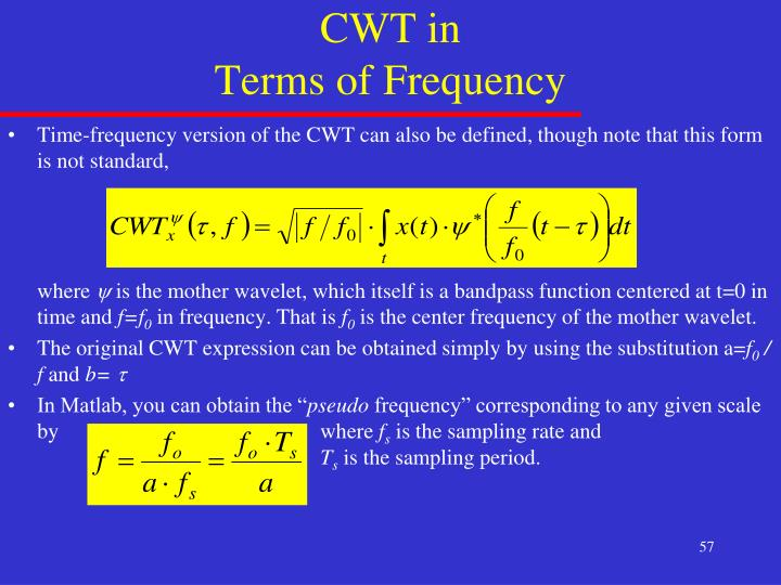 CWT in