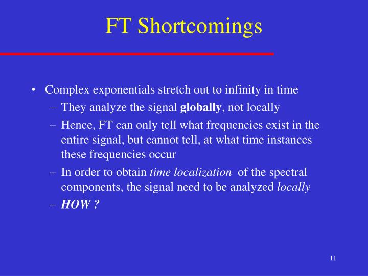 FT Shortcomings