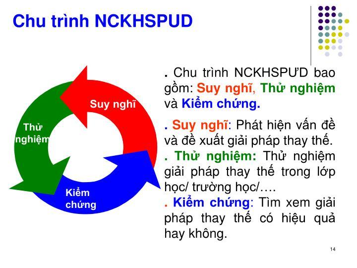Chu trình NCKHSPUD