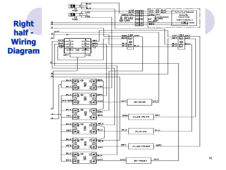 Right half -Wiring Diagram