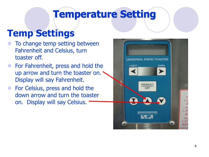 Temperature Setting