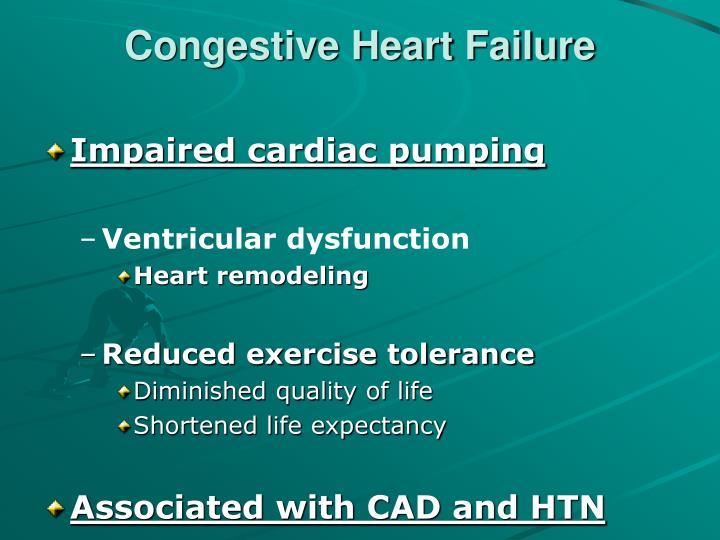 case study congestive heart failure