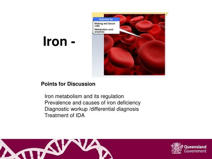 Iron -