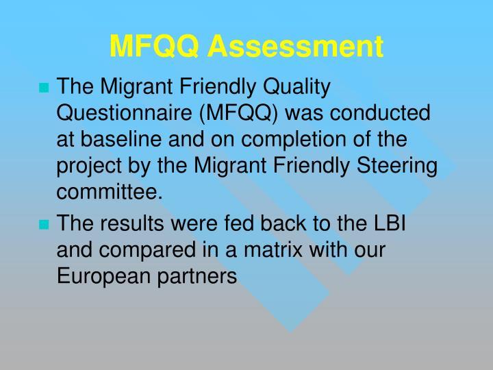 MFQQ Assessment