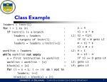 class example