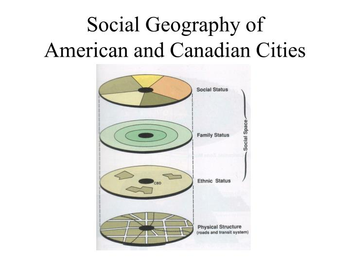 Social Geography of