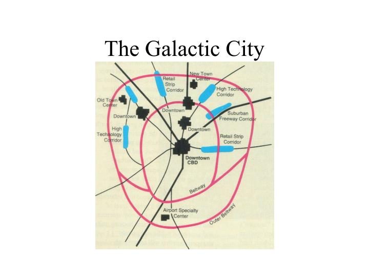 The Galactic City